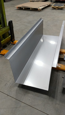 CNC stainless steel press brake form