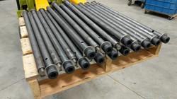 Custom fabricated rods