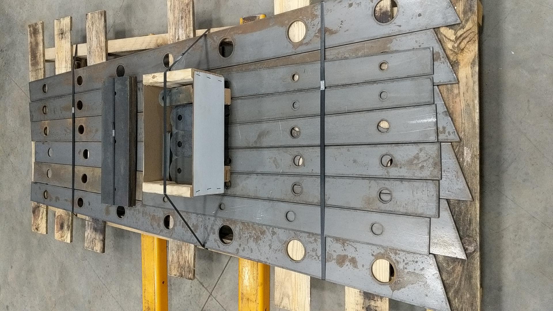 CNC cut components for commercial