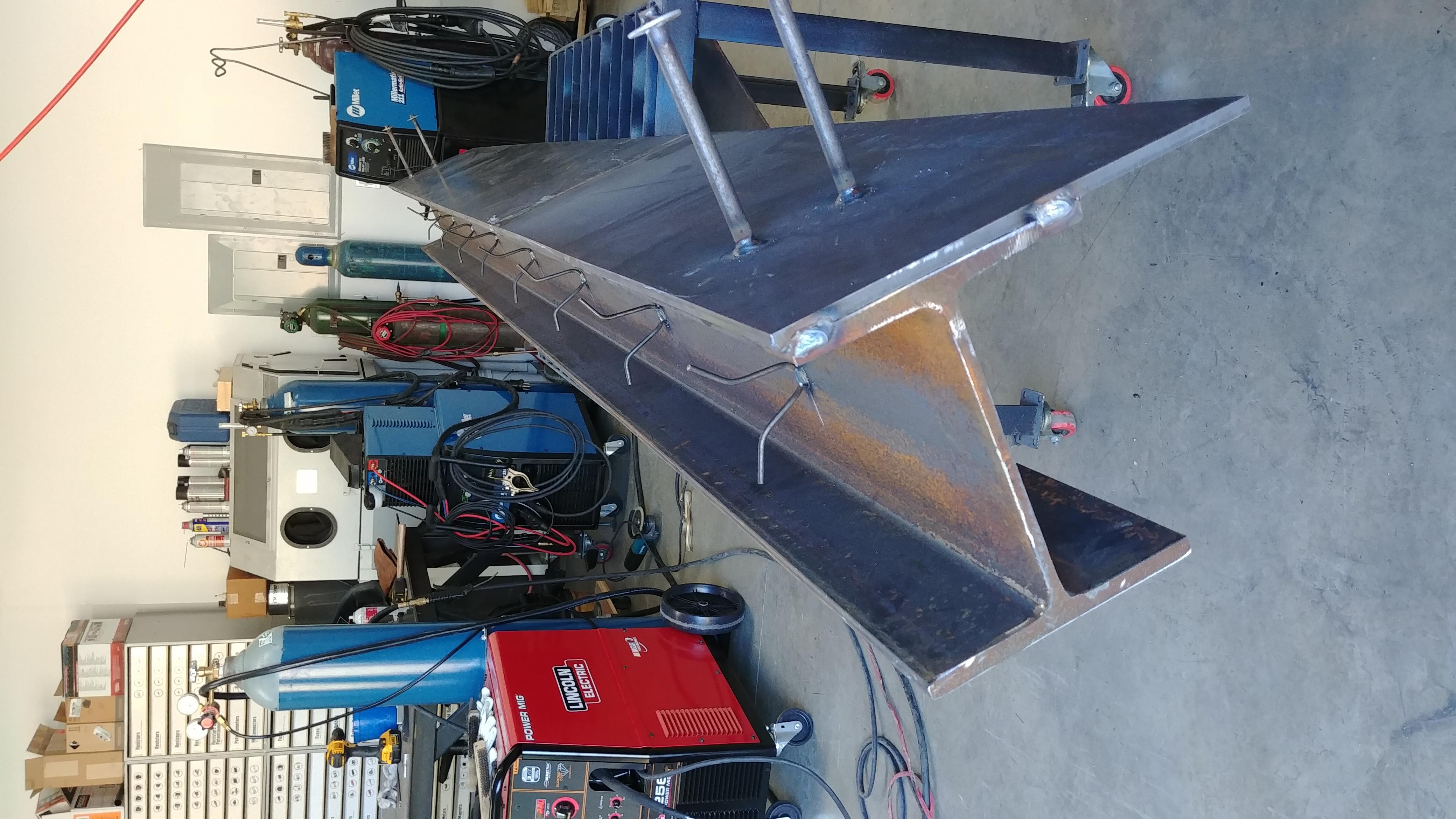 Steel weldments