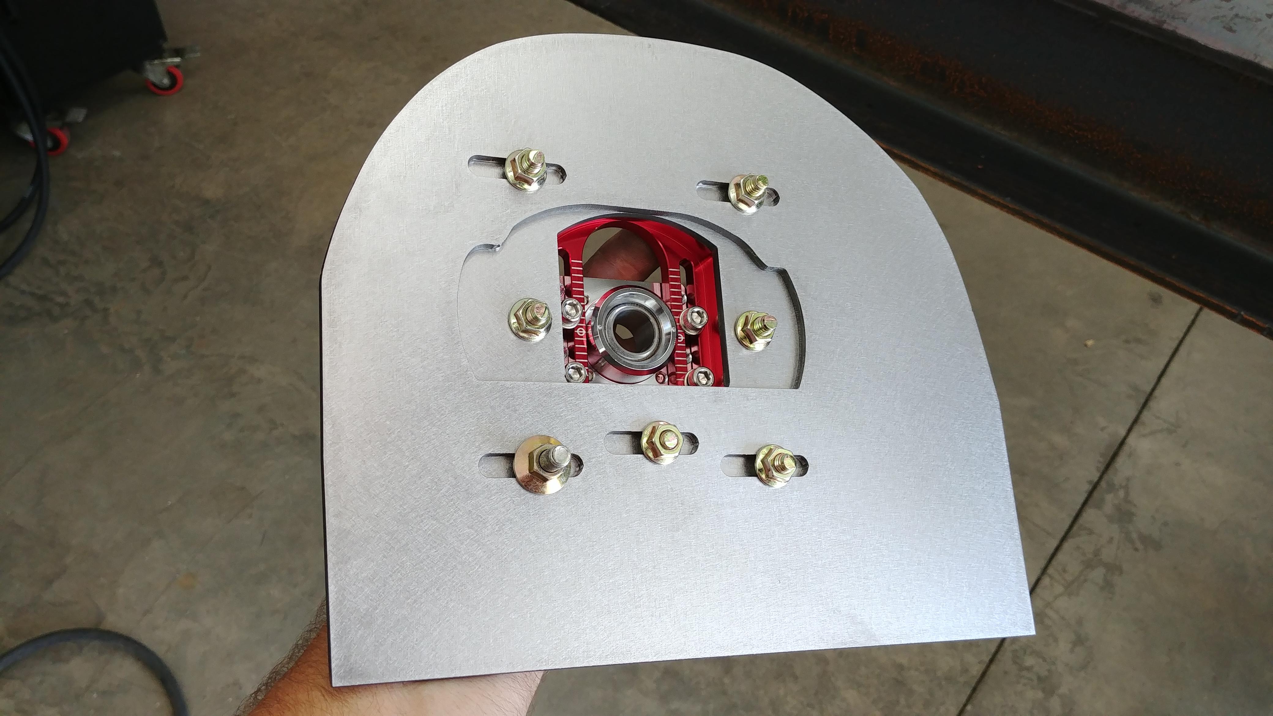 Race car suspension components