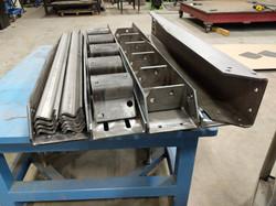 CNC plasma cut and press brake forme