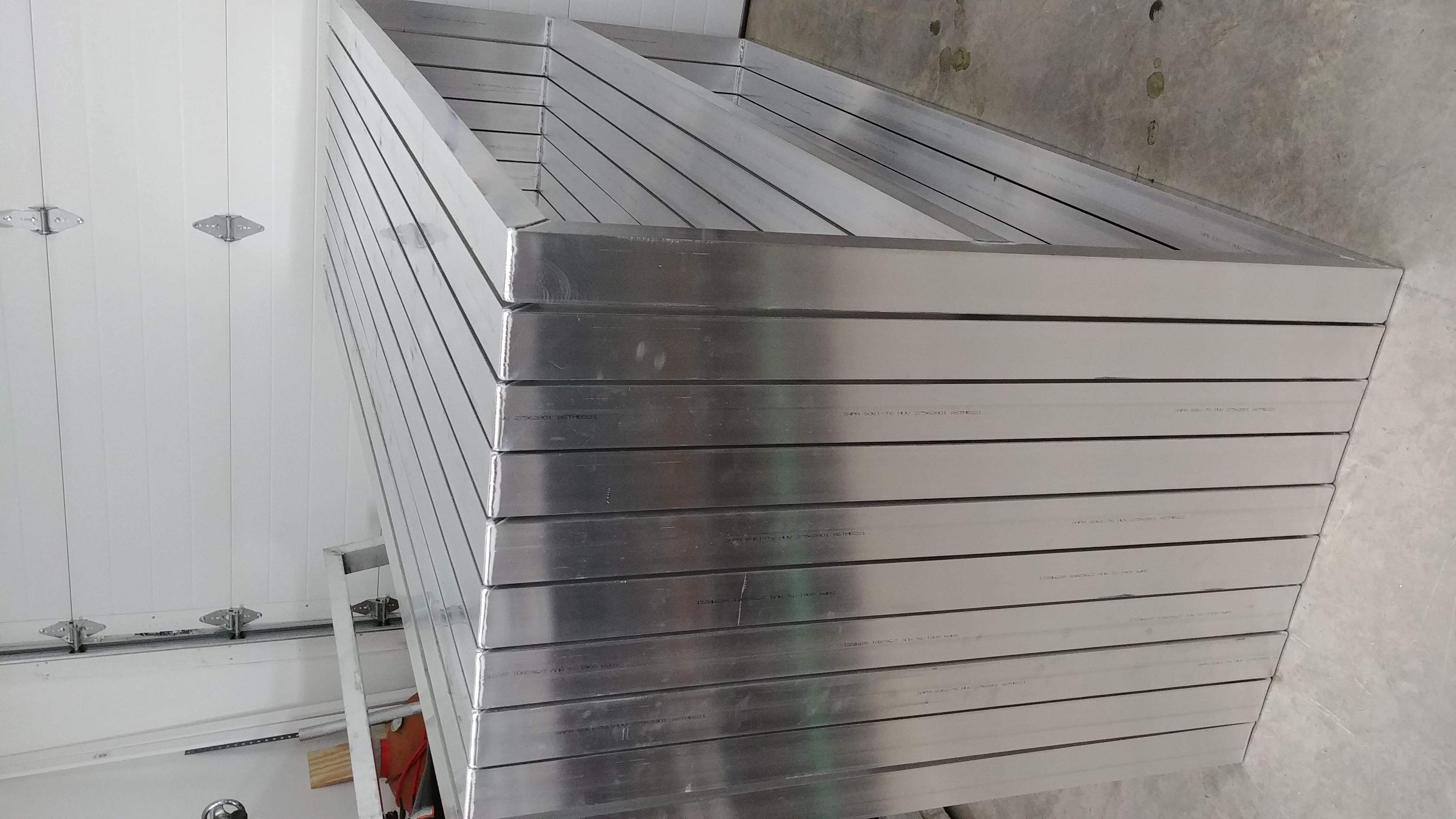 TIG welded aluminum