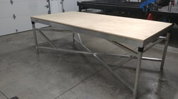 Custom aluminum support system