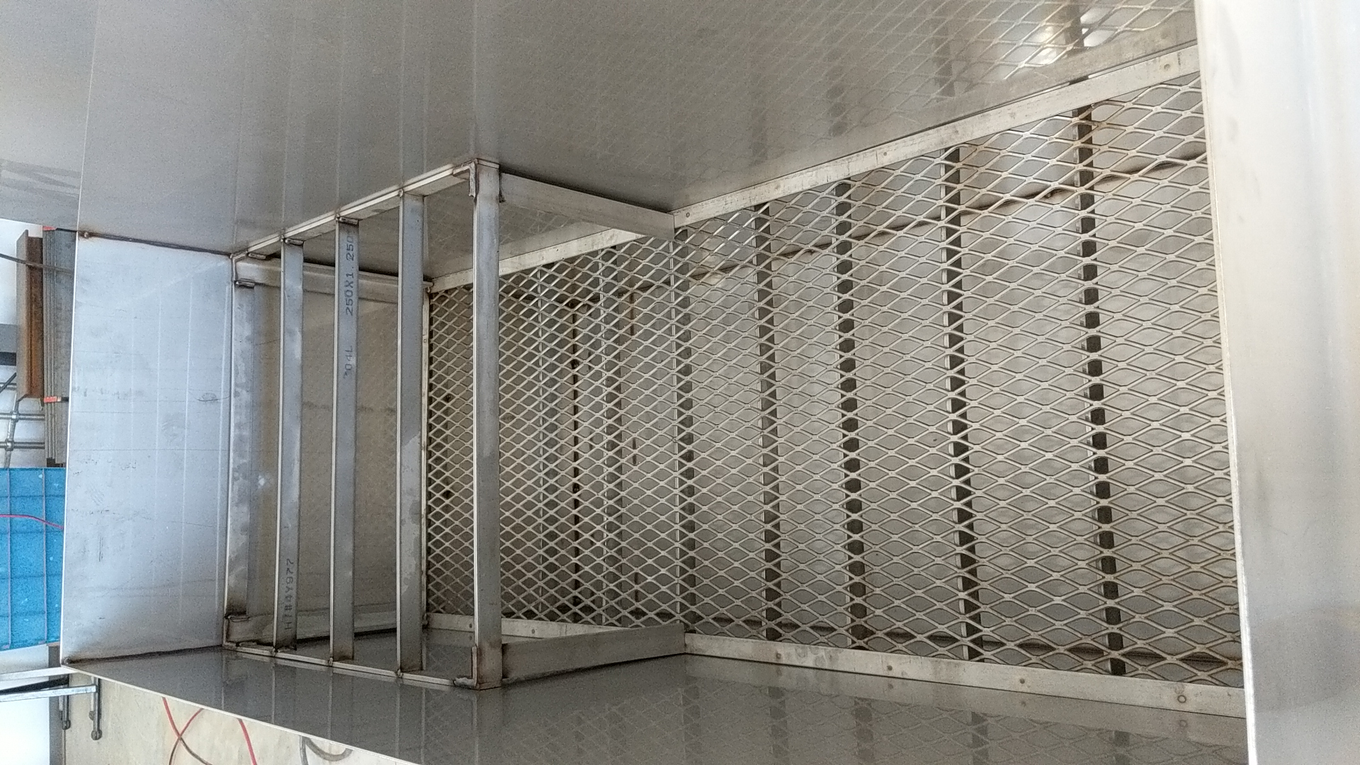 304 stainless steel fabricated tank
