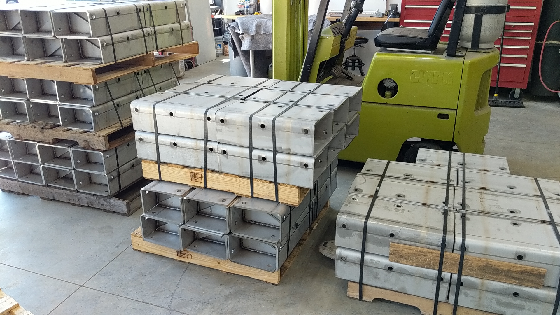Heavy 304 stainless steel fabricated