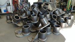 MIG welded parts