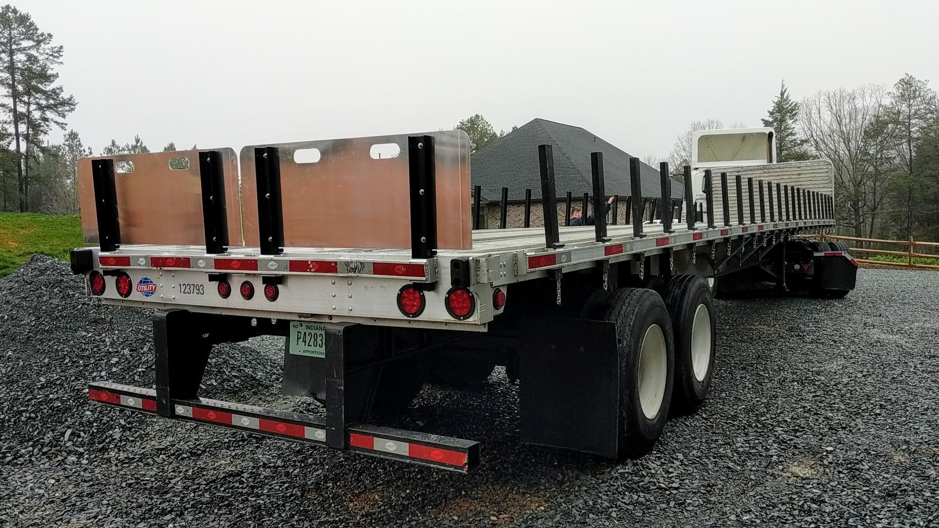 Tractor trailer modification