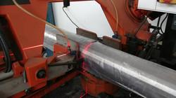 Horizontal sawing