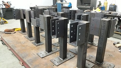 steel custom fabricated supports