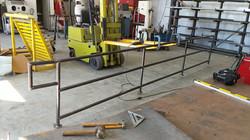 Bar hand railings