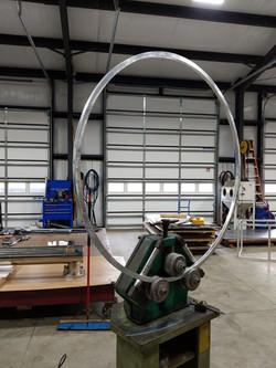 Aluminum rolled rings