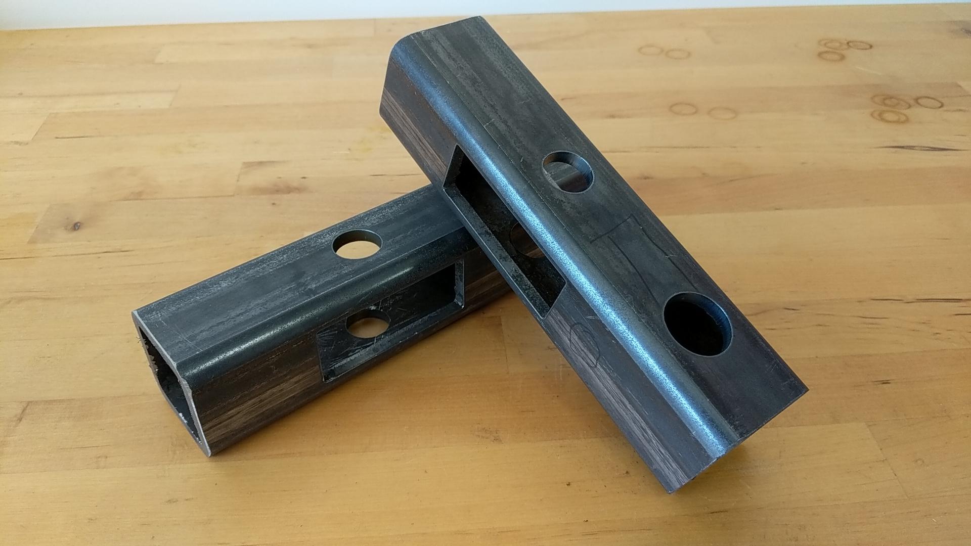 Custom cut tube