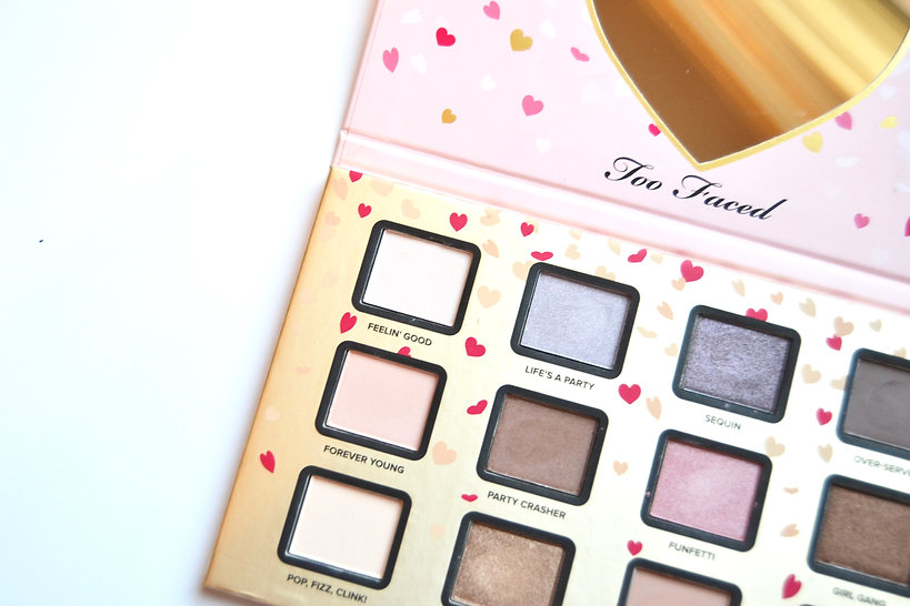 Too Faced Funfetti Palette review