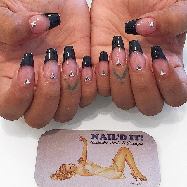 French ballerinas by_ _boondawwg _#nailditsalon#hollywood#nailart#naildesign#nailartoohlala#nailarta