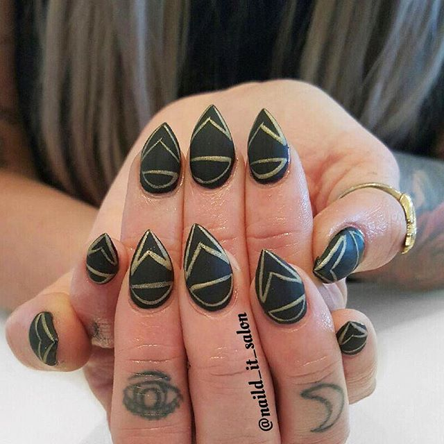 Nails by Safia _#naildit #nailditsalon #naildithollywood #nailartoohlala #nailart #nailporn #nailpro