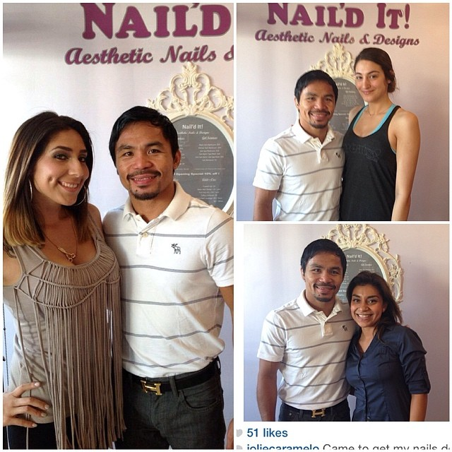 Our girl Darlene and #reposts of our clients with Manny Pacquiao #mannyfever #pacquiao #teampacquiao