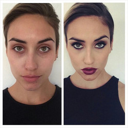 Now offering #Makeup at our #Hollywood location!! Book your appointment with our amazing #MakeupArti