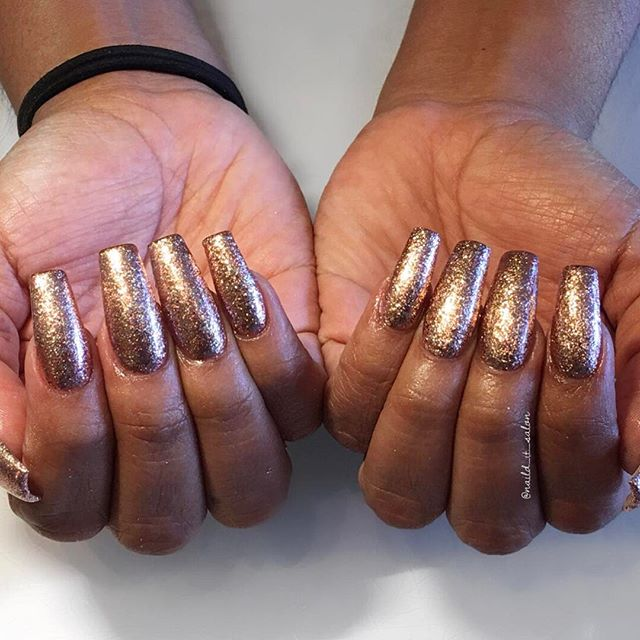 Sparkly coffins #naildit #nailditsalon #naildithollywood