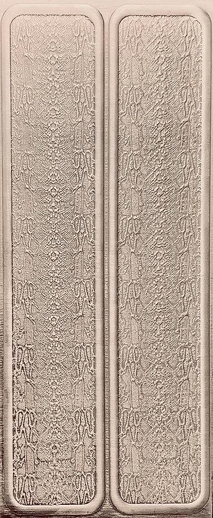 Snakeskin Cuffs Sterling Silver Pattern Pressing