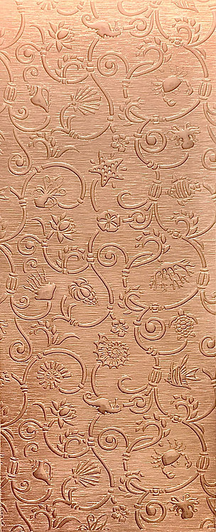 Sea Creatures Large Copper Pattern Pressing