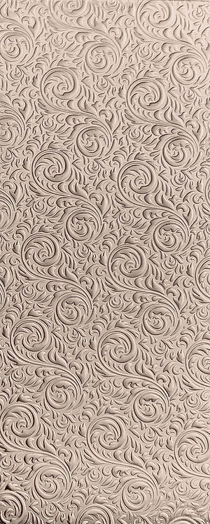 Scroll Background 1 Sterling Silver Pattern Pressing
