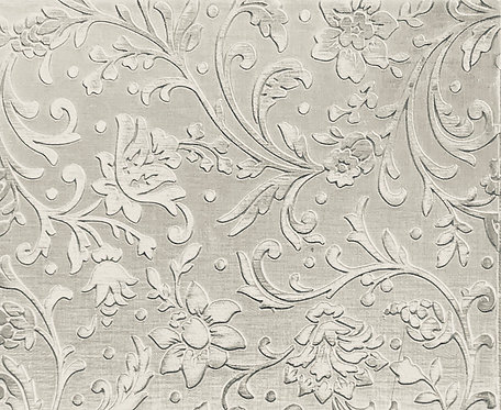 """Swirly Floral Reverse Sterling Silver Pattern Pressing 2"""" X 2-1/2"""" 1"""