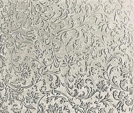 "European Flourish Large Sterling Silver Pattern Pressing 2"" X 2-1/2"""