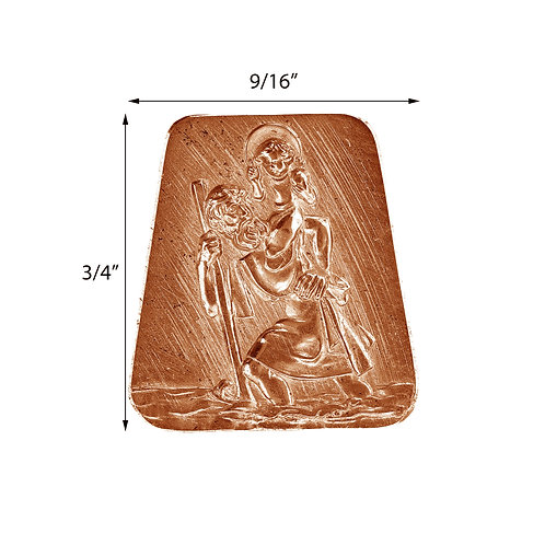 Religious #70 St. Christopher Impression Die Pressing