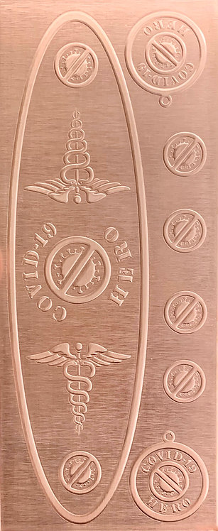 Covid-19 EMT and EMS Copper Pattern Pressing