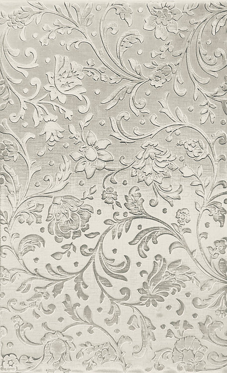 """Swirly Floral Reverse Sterling Silver Pattern Pressing 2-1/2"""" X 4"""""""