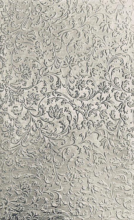 "European Flourish Large Sterling Silver Pattern Pressing 2-1/2"" X 4"""