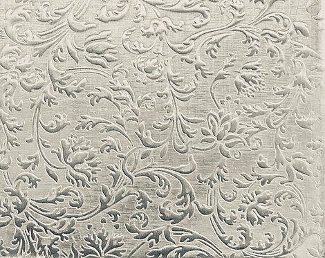 "European Flourish Ex-Large Sterling Silver Pattern Pressing 2"" X 2-1/2"""