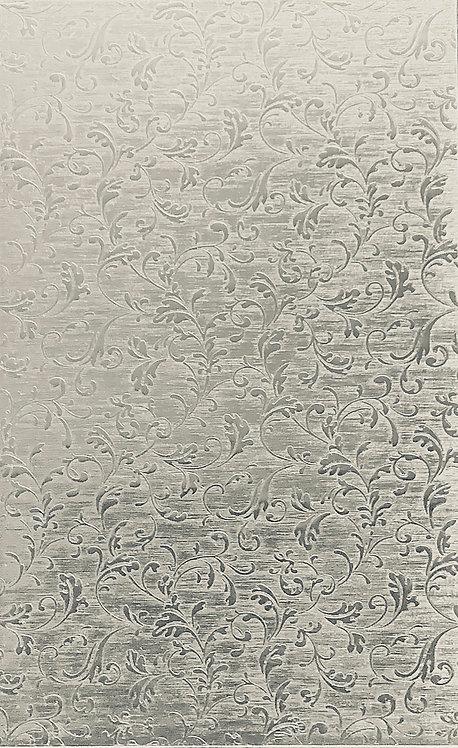 "Leafy Background Medium Sterling Silver Pattern Pressing 2-1/2"" X 4"""