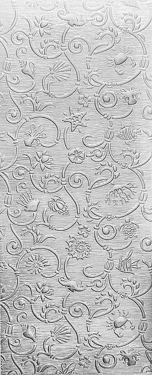 Sea Creatures Large Sterling Silver Pattern Pressing
