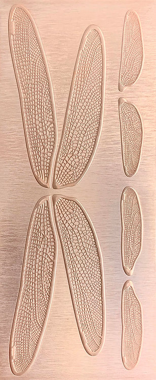 Dragonfly Wings Copper Pattern Pressing