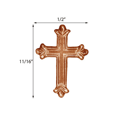 Religious #10 Cross Impression Die Pressing