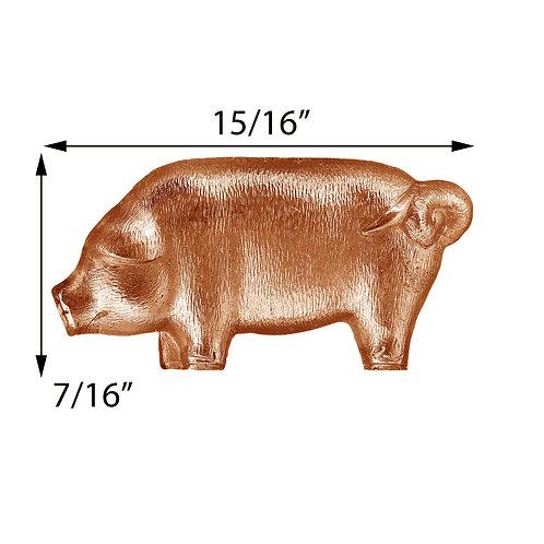 Animal #100 Pig Impression Die Pressing