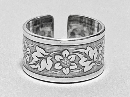 Cowgirl Rustic Flower Ring and Bangle Tutorial