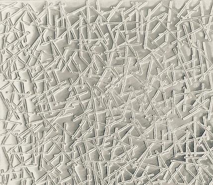 "Pick Up Sticks Sterling Silver Pattern Pressing 2"" X 2-1/2"""