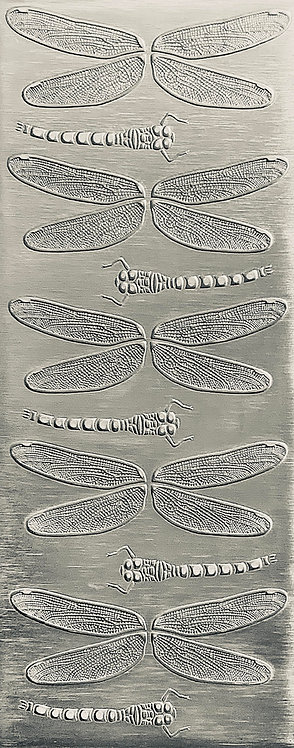 Dragonfly Wings and Bodies Sterling Silver Pattern Pressing