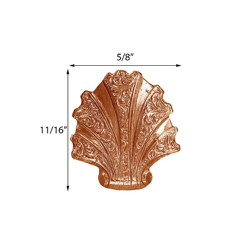 Sea Life #400 Victorian Engraved Sea Shell Impression Die Pressing