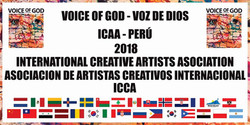 "Flyer ""Voice of God"" Peru"