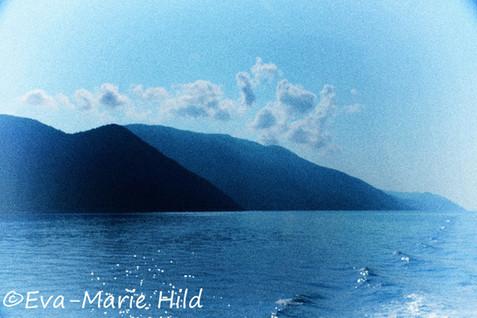 Greece around Ithaka Island