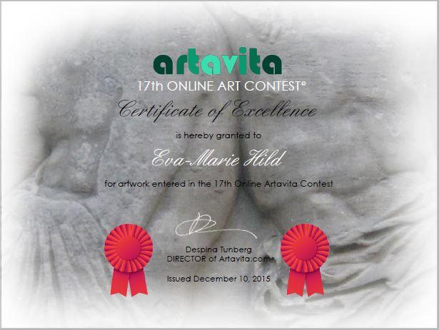 Artavita Certificate of Excellence