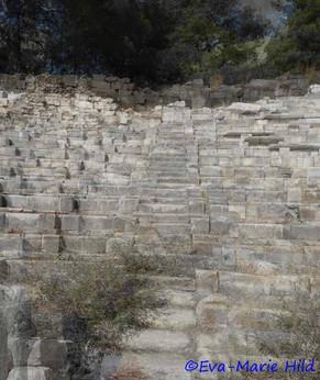 Stiege im Theater zu Milet