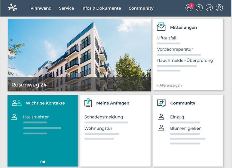 Kundenportal 023-Hausverwaltung GmbH