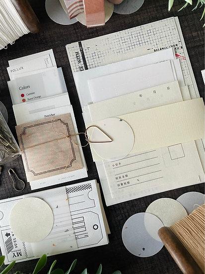 Letterpress and Washi Paper Kit