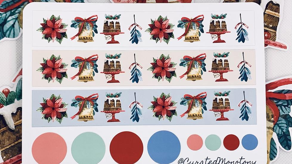 Winter Decor 1 Washi Stickers