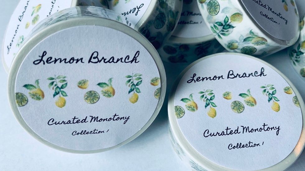 Lemon Branch Washi